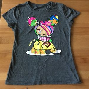 tokidoki x gudetama tshirt